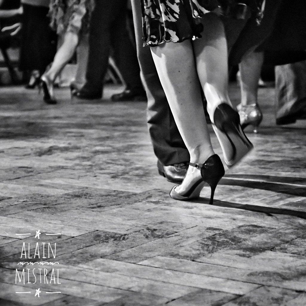 Pieds de danseurs