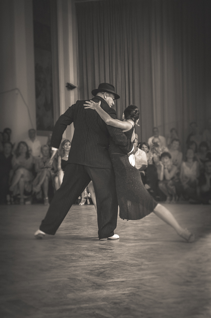 Maria Belén Giachello et Gustavo Gomez Arles 2016